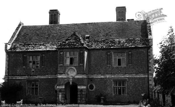 Photo of Wool, Woolbridge Manor Hotel c.1955