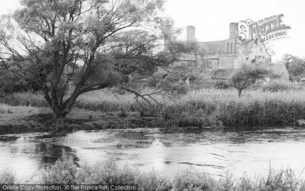 Photo of Wool, Woolbridge Manor Hotel c.1965