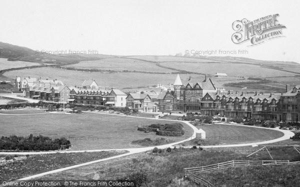 Photo of Woolacombe, 1895