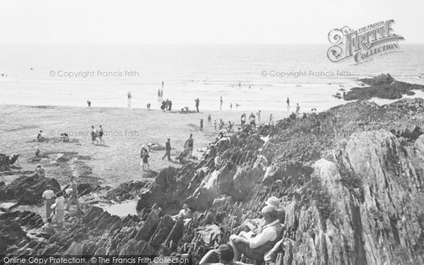 Photo of Woolacombe, 1935