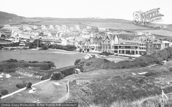 Photo of Woolacombe, 1936