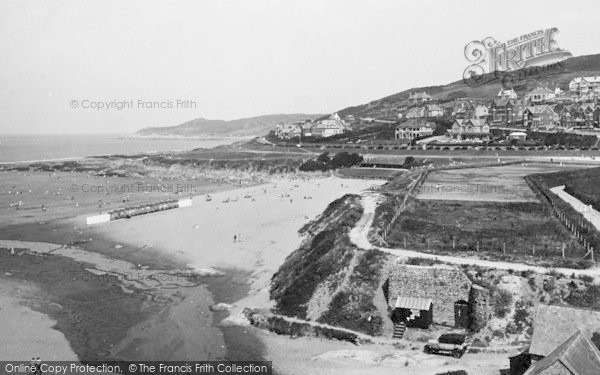 Photo of Woolacombe, Baggy Point 1935