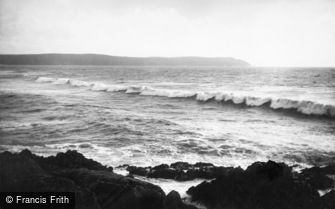 Woolacombe, Baggy Point c1875