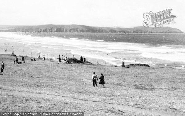 Photo of Woolacombe, Baggy Point c.1965