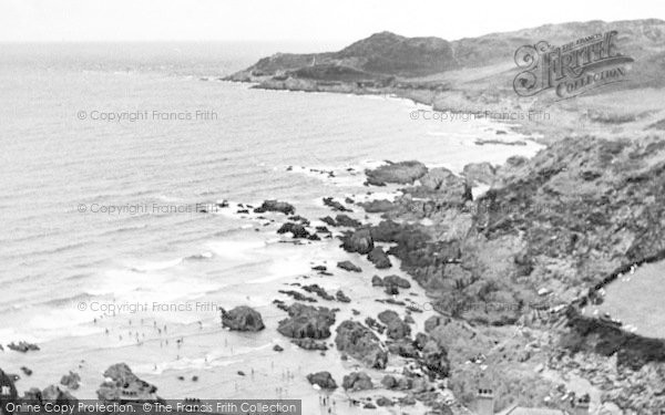 Photo of Woolacombe, Barricane Beach And Morte Beach c.1955
