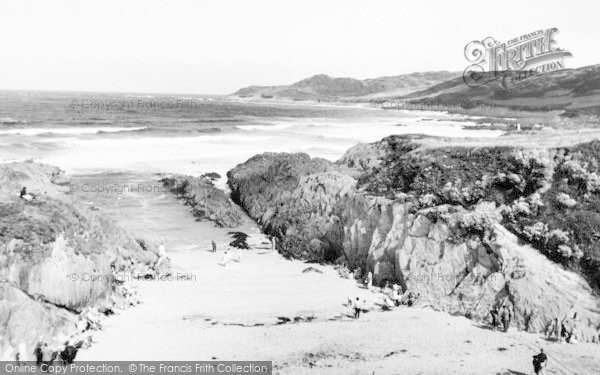 Photo of Woolacombe, Barricane Beach And Morte Point c.1960