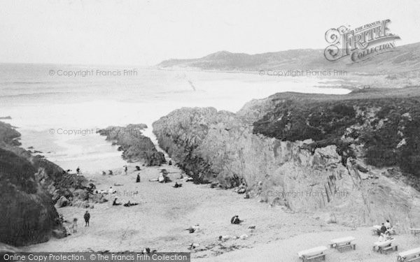 Photo of Woolacombe, Barricane Shell Beach 1911