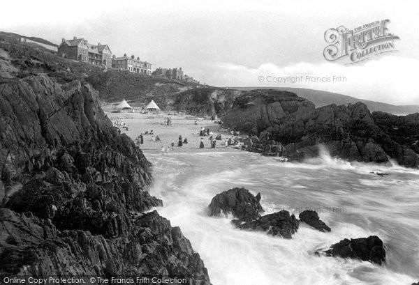 Photo of Woolacombe, Barricane Shell Beach 1911