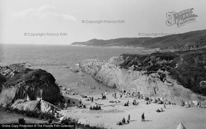 Photo of Woolacombe, Barricane Shell Beach 1935