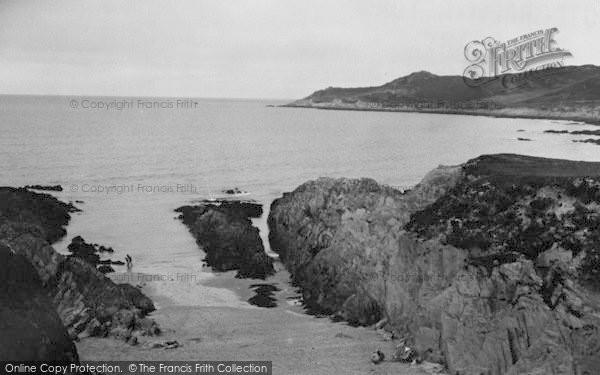 Photo of Woolacombe, Barricane Shell Beach c.1950