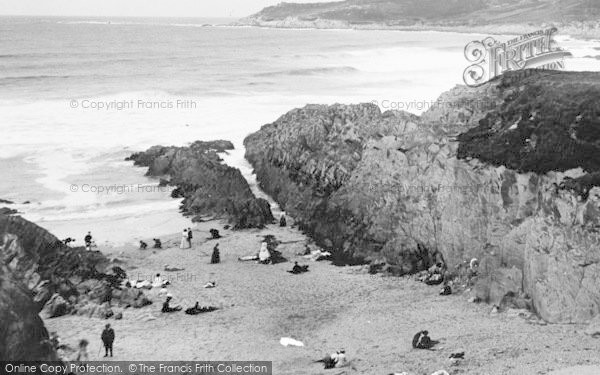 Photo of Woolacombe, Barricane Shell Beach c.1955