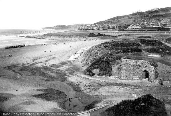 Photo of Woolacombe, Bathing Beach 1911