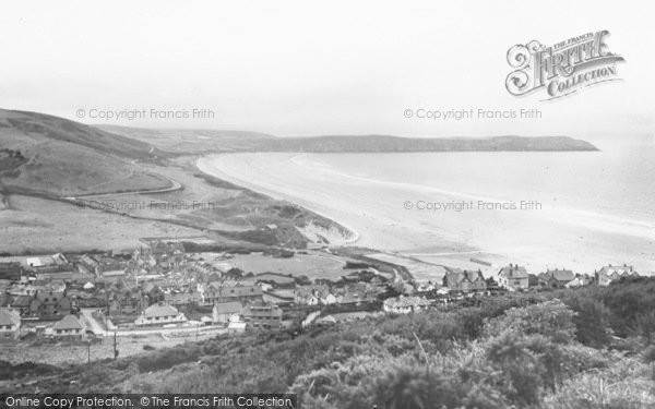 Photo of Woolacombe, Bay From North 1935