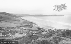 Woolacombe, Bay From North 1935