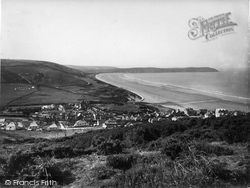 Bay From North 1935, Woolacombe