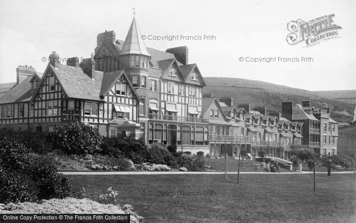 Photo of Woolacombe, Bay Hotel 1895