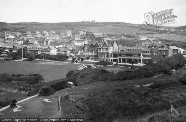 Photo of Woolacombe, Bay Hotel 1936