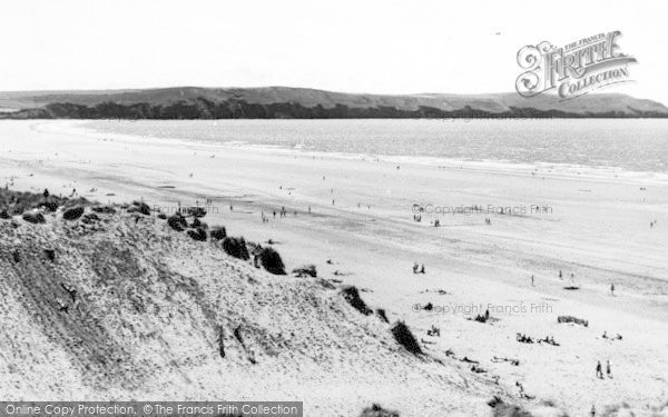 Photo of Woolacombe, Beach And Baggy Point c.1965