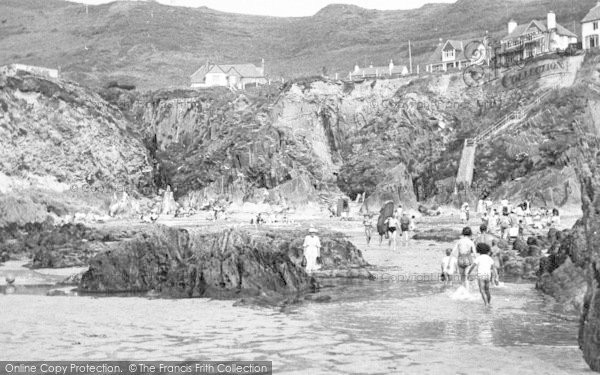 Photo of Woolacombe, Beach And Cliffs c.1955