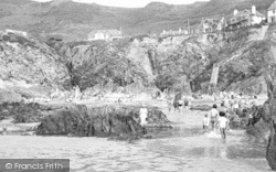 Beach And Cliffs c.1955, Woolacombe