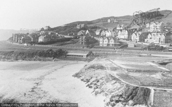 Photo of Woolacombe, Beach From Sandhills c.1950