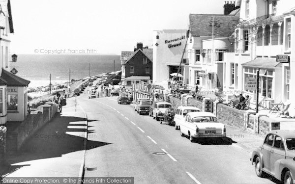 Photo of Woolacombe, Beach Road c.1965