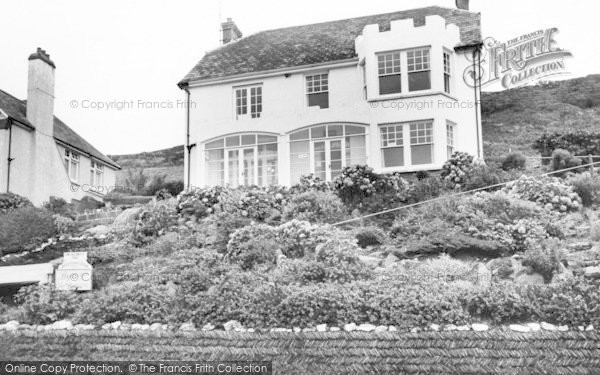 Photo of Woolacombe, Byways Guest House c.1965