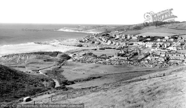 Photo of Woolacombe, c.1965