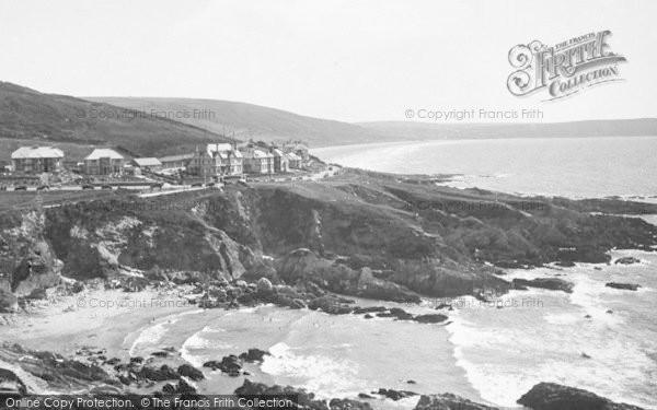 Photo of Woolacombe, Combesgate Beach 1935