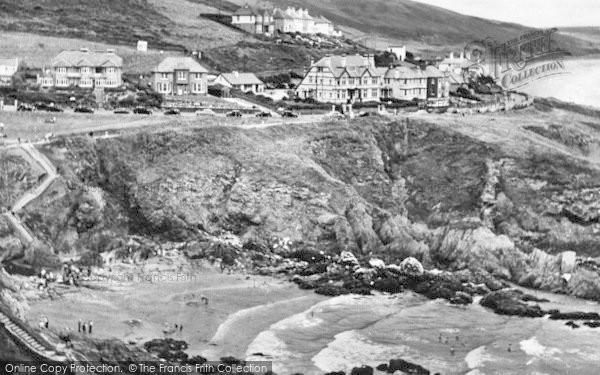 Photo of Woolacombe, Combesgate Beach c.1955