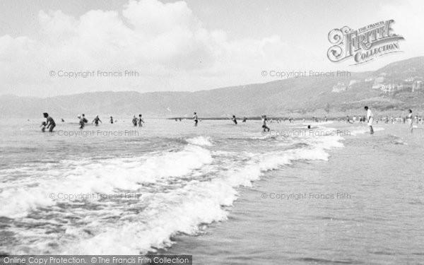 Photo of Woolacombe, Combesgate Beach c.1960