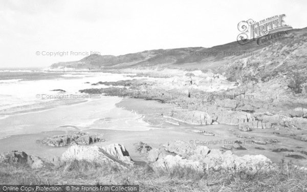 Photo of Woolacombe, Combesgate Beach c.1960