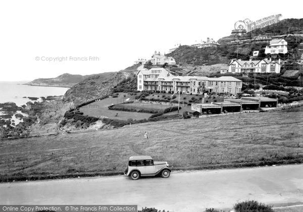 Photo of Woolacombe, Combesgate c.1950