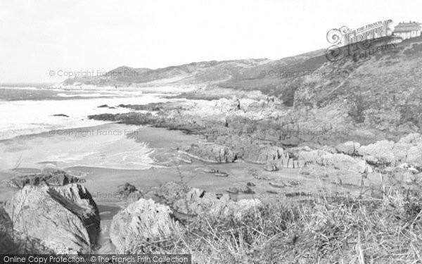 Photo of Woolacombe, Combesgate c.1960
