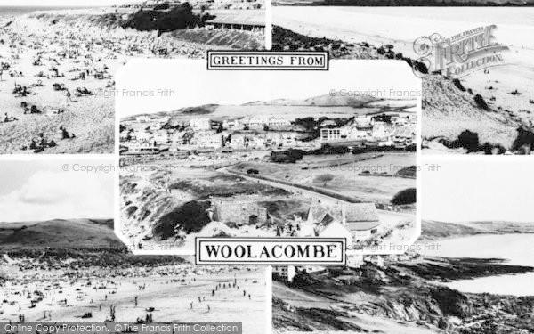 Photo of Woolacombe, Composite c.1960
