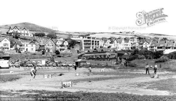 Photo of Woolacombe, Crazy Golfcourse c.1965