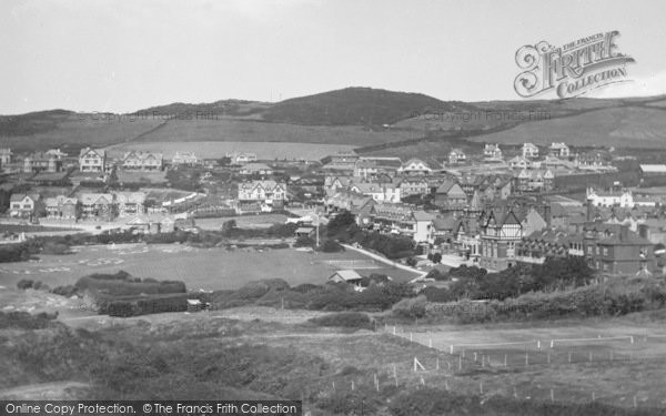 Photo of Woolacombe, From Golf Links 1935