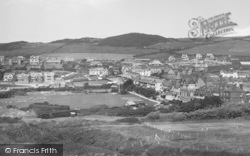 Woolacombe, From Golf Links 1935