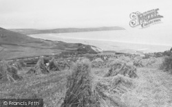 Woolacombe, From North East 1935