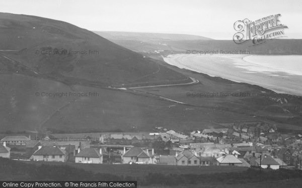 Photo of Woolacombe, From North Hill c.1950