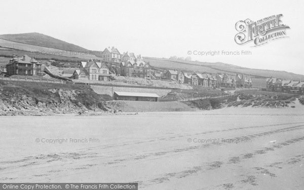 Photo of Woolacombe, From Sands 1895