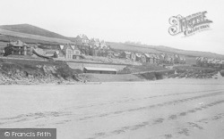 Woolacombe, From Sands 1895