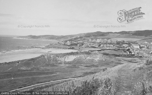 Photo of Woolacombe, From South 1935