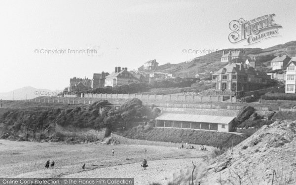 Photo of Woolacombe, General View And Morte Hoe Point c.1950