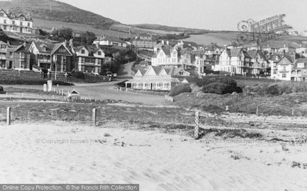 Photo of Woolacombe, General View Central c.1950