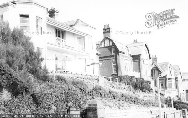 Photo of Woolacombe, Little Beach Hotel c.1965