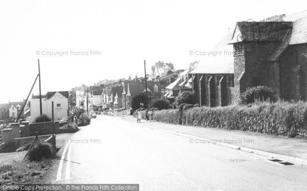 Photo of Woolacombe, Main Road c.1965
