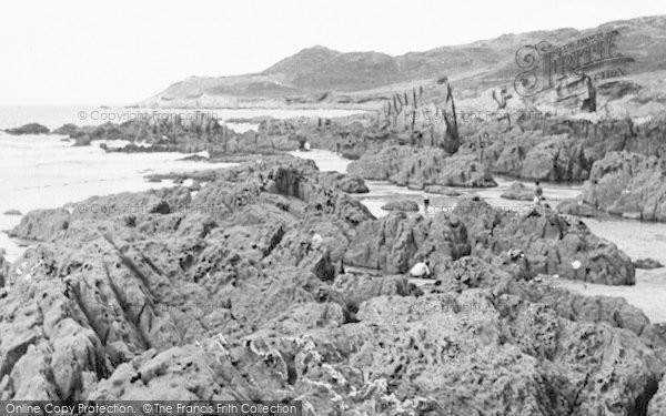 Photo of Woolacombe, Morte Point And Combesgate Beach c.1955