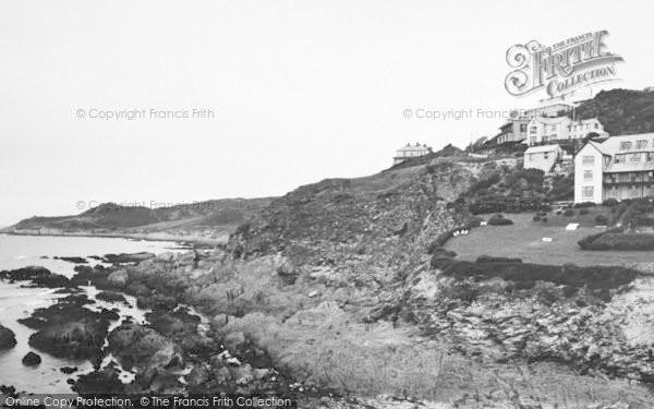 Photo of Woolacombe, Morte Point c.1950