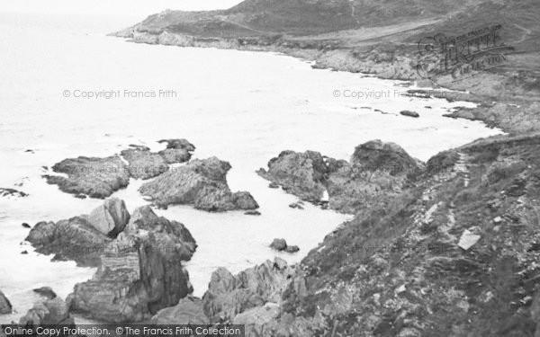 Photo of Woolacombe, Morte Point c.1955